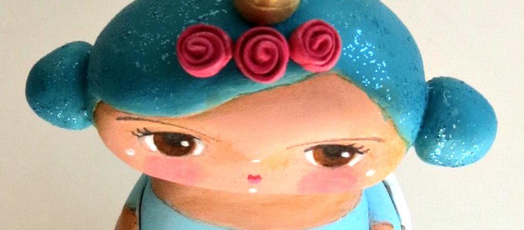 custom art doll for unicorn