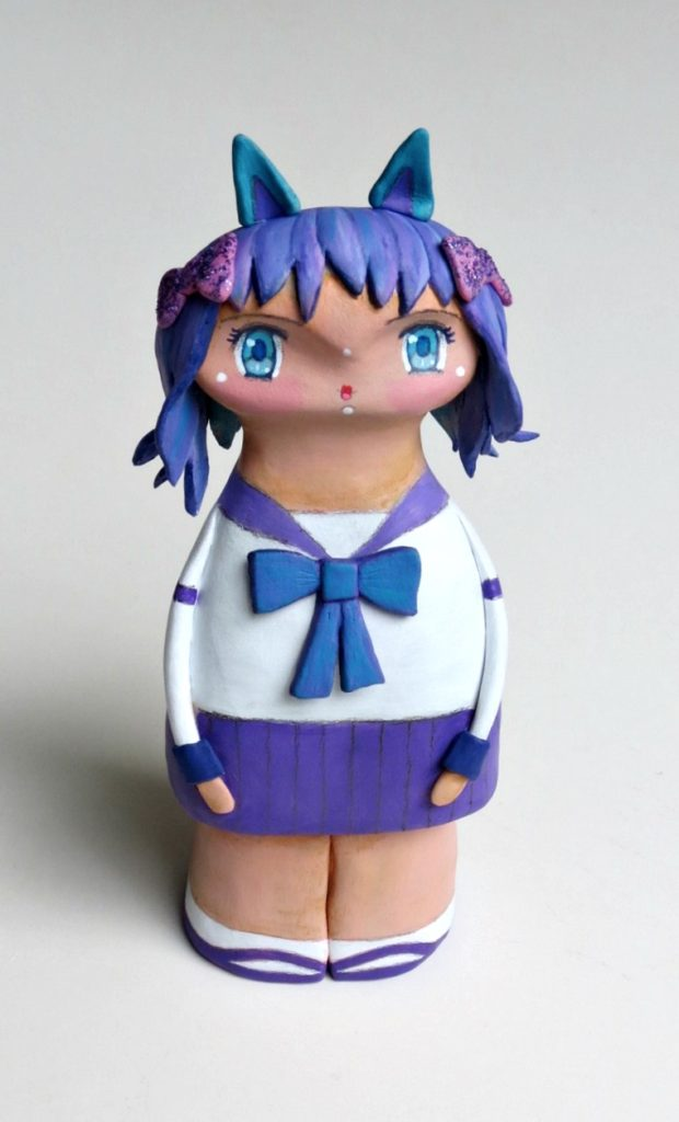 custom art doll anime