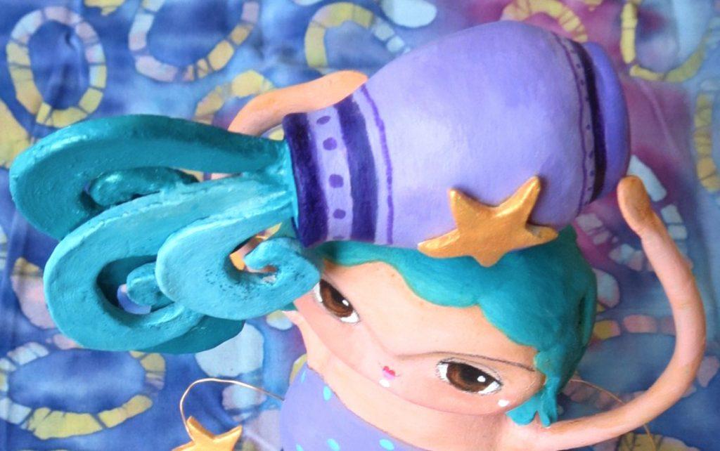 aquarius art doll