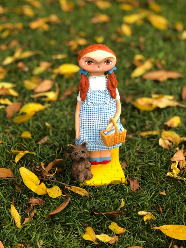 art doll the wizard of oz dorothy
