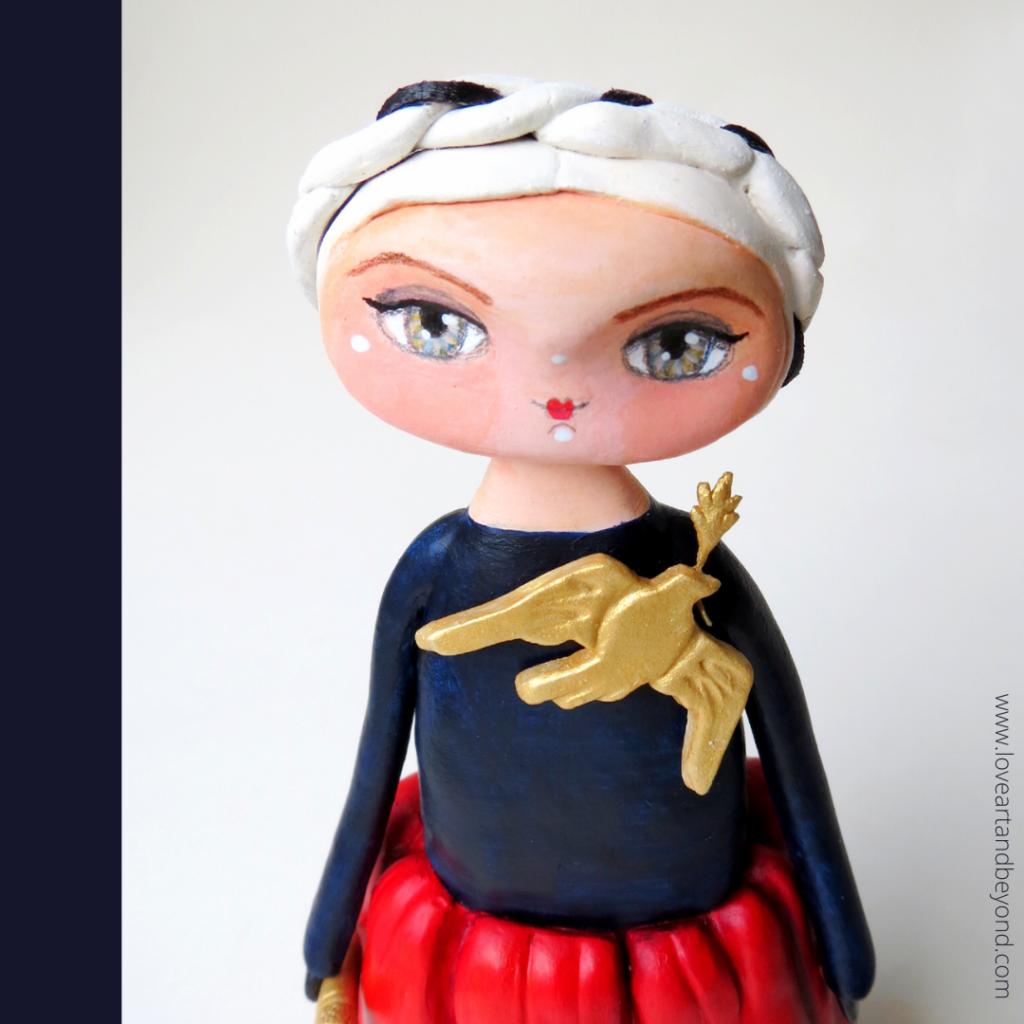 lady gaga art doll